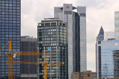 Skyscrapers of Frankfurt Stock Photo