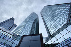 Skyscrapers of Frankfurt Stock Photography