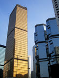 Skyscrapers in Hong Kong Stock Photos