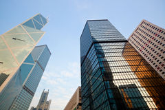 Skyscrapers in Hong Kong Royalty Free Stock Photo