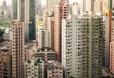 Skyscrapers of Hong Kong Royalty Free Stock Photo