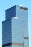Skyscrapers In Blue Sky Stock Photo