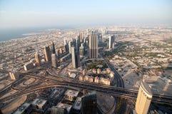 Skyscrapers In Dubai Stock Photo