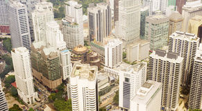 Skyscrapers in Kuala Lumpur Stock Photo