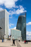Skyscrapers in La Defense Royalty Free Stock Photo