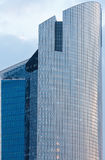 Skyscrapers of La Defense, Paris, France. PARIS, FRANCE - March 27, 2014: Skyscrapers of La Defense -Modern business and residential area in the near suburbs of Stock Image