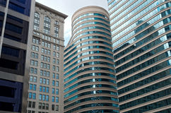 Skyscrapers and Landmark Building in Minneapolis Stock Image