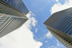 Skyscrapers in the London. Royalty Free Stock Photo