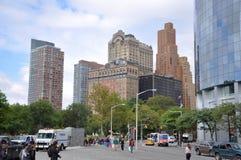 Skyscrapers Lower Manhattan, New York City Royalty Free Stock Photo