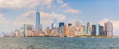 Skyscrapers in lower Manhattan, New York Stock Photo