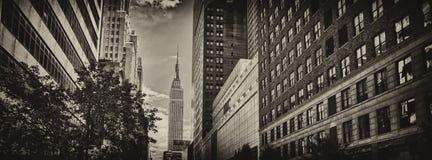 Skyscrapers of Manhattan Stock Image