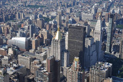 Skyscrapers in Manhattan, New York, USA Stock Images