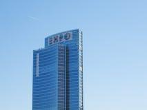 Skyscrapers in Milan Italy Stock Photo