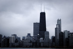 Skyscrapers and modern buildings of Chicago Skyline Royalty Free Stock Image