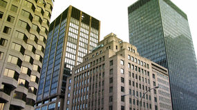 Skyscrapers in Montreal Royalty Free Stock Image