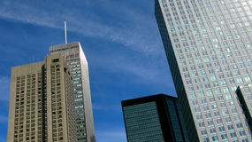 Skyscrapers in Montreal Stock Image