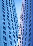 Skyscrapers, morning Royalty Free Stock Photos