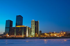 Skyscrapers in Moscow Stock Image