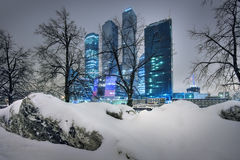 Skyscrapers of Moscow Stock Images