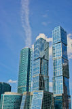 Skyscrapers of Moscow. City, Russia, East Europe royalty free stock images