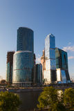 Skyscrapers of Moscow City Stock Photo