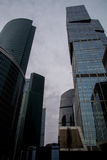 Skyscrapers of Moscow City. Modern business center Moscow-City Stock Photography
