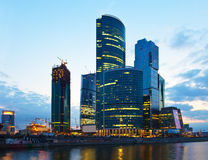 Skyscrapers of Moscow city orning Stock Image