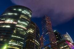 Skyscrapers of Moscow City Royalty Free Stock Photo
