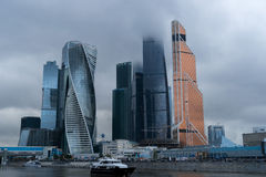 Skyscrapers of Moscow City Royalty Free Stock Photography