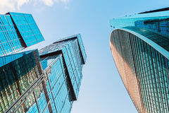 Skyscrapers Moscow International Business Center Royalty Free Stock Image