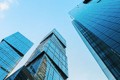 Skyscrapers Moscow   Stock Photography