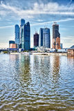 Skyscrapers in Moscow - Russia Stock Photo