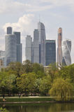 Skyscrapers in Moscow Stock Photography