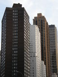 Skyscrapers in New York City. (USA stock image