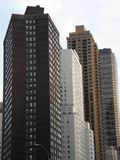 Skyscrapers in New York City. (USA stock photography