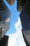 Skyscrapers in New York City Stock Images