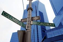Modern buildings, new york city. Skyscrapers in new york city, new york, manhattan stock photo
