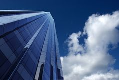 Modern buildings, new york city. Skyscrapers in new york city, new york, manhattan royalty free stock photos