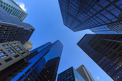 Skyscrapers in New York City Stock Photo