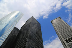 Skyscrapers in New York City Royalty Free Stock Image