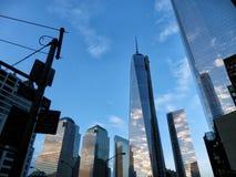Skyscrapers in new york Stock Image