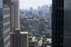 Skyscrapers Of Manhattan Royalty Free Stock Photos