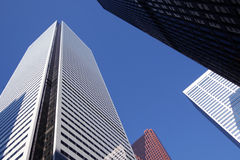 Skyscrapers-office building in downtown Toronto Stock Photo