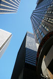 Skyscrapers-office Building In Downtown Toronto Stock Image