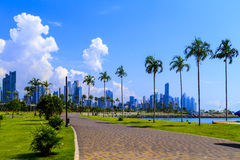 Skyscrapers in Panama City stock photos