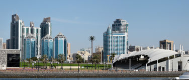 Sharjah Panoramic View Royalty Free Stock Photography