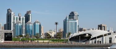 Sharjah Panoramic View Royalty Free Stock Photography