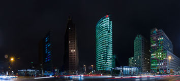 Skyscrapers on Potsdamer Platz Stock Images