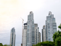 Skyscrapers in Puerto Madero neighborhood, Buenos Aires Royalty Free Stock Photos