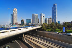 Skyscrapers of Ramat Gan, Israel Stock Photo